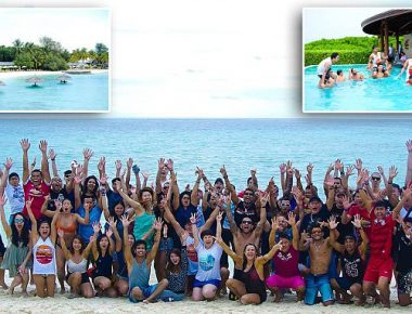 "Pic shows: Employees during the 2016 EVOLVE Annual Retreat that took place in Maldives;nnThe MMA boss has splashed the cash to take his lucky employees on a luxury all expenses trip to the Maldives.nnEvolve Mixed Martial Arts founder and chairman Chatri Sityodtong states the company has seen a 30 percent year-on-year growth, and he wanted to thank his employees for their hard work and dedication.nnHe splashed out a whopping $500,000 (392k GBP) to reward 100 employees with the five-star all-inclusive holiday to the paradise island.nnAnd this isn't the first time he has taken his workers for a treat. He calls the holidays a ""normal part of Evolve culture"" with the group enjoying previous holidays to luxurious destinations such as Bali, Krabi, Khao Lak and Bintan in Indonesia for the past five years.nnHe said: ""These rewards are a small token of my heartfelt gratitude to all of the phenomenal rockstars at Evolve MMA.nn""Every year, I take the entire team on an all-expenses-paid trip to a five-star luxury resort at a surprise destination.""nnThe company's support staff and world champion trainers joined members of Evolve's fight team, including ONE Women's Atomweight World Champion Angela Lee, on the expensive getaway.nn""Many of my staff would love to travel the world, but do not have the means to do so,"" he continued. ""The vast majority of my team at Evolve come from humble backgrounds of poverty, tragedy, or adversity. For them, Evolve is the greatest opportunity to escape poverty and to achieve the life of their dreams.nn""The best deserve the best. It is only fair. We do our best to hire the best people in the world, giving out only one job offer for every 200 applicants. So they should be compensated as such. We work hard, and we play hard.nn""Evolve has the best team in the world. I am very confident in my team. I believe in them 100 percent.""nnThe entrepreneur said the holidays will continue for the foreseeable future but joked he has not yet planned 2017's spectacular just yet.nnHe said: ""The world is a big place! I don't know where our annual retreat will be held next year, but I hope to take them to another spectacular place.""n"
