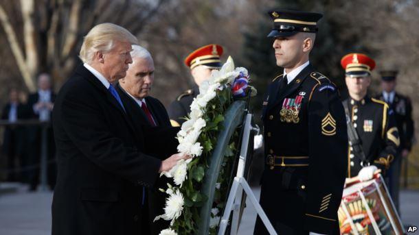 Trump tek ushtari i panjohur