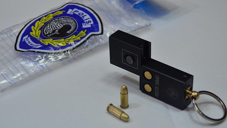 Sekuestrohet në Ankara një  pistoletë mbajtëse çelësash   arma e pazakontë surprizon Turqinë