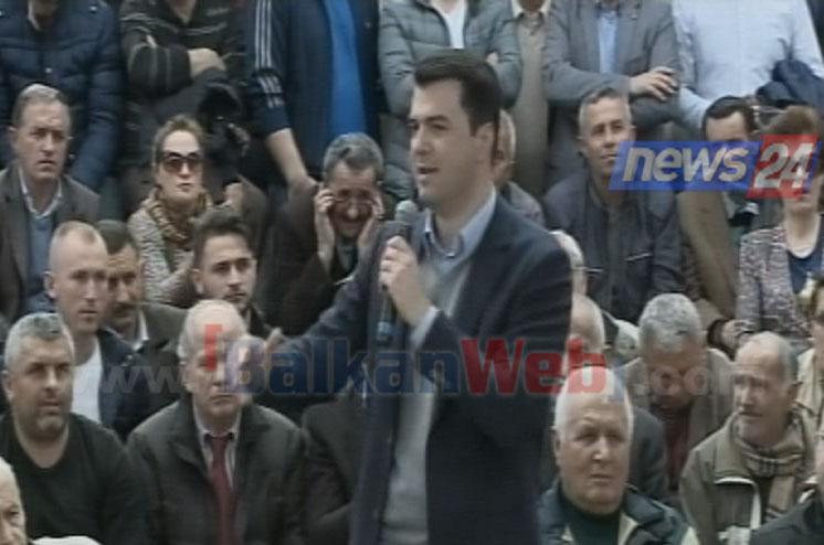 Premtimi i Bashës në ditën e 11 të protestës  Jo më pension nën 25 mijë lekë në muaj  paratë do t ua marrim