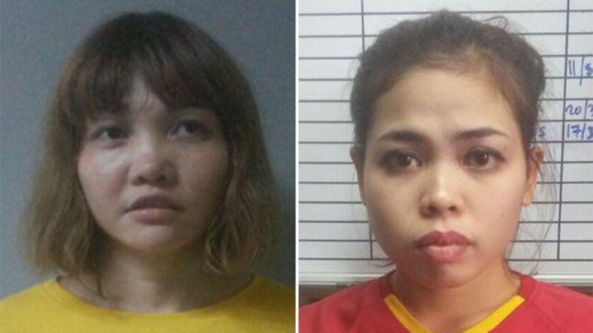 Akuzohen për vrasjen e Kim Jong nam  dëshmia e habitshme e dy vajzave  Kujtuam se po luanim me
