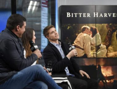 """participates in the BUILD Speaker Series to discuss the film """"Bitter Harvest"""" at AOL Studios on Thursday, Feb. 16, 2017, in New York. (Photo by Evan Agostini/Invision/AP)"""