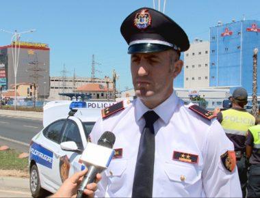 policia per radaret ne rruge