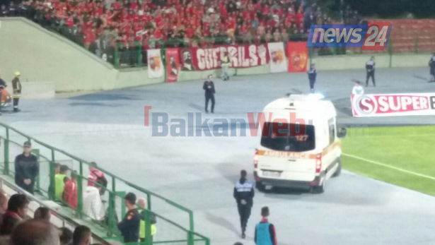 Kryendeshja Skënderbeu-Partizani, humb jetën në stadium një tifoz