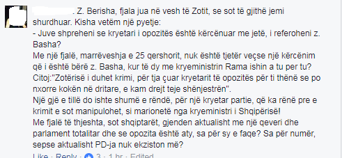 komentuesja Berisha