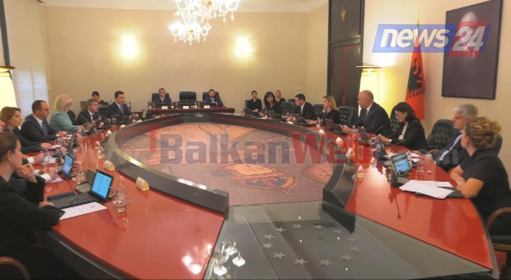 mbledhje qeverie