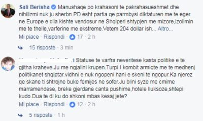 Berisha koment