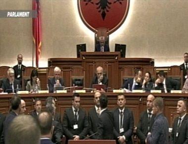 bllokojne foltoren parlament