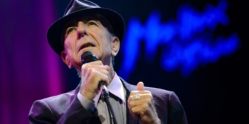 (FILES) This file photo taken on July 5, 2013 shows Canadian songwriter Leonard Cohen performing at the Auditorium Stravinski during the 47th Montreux Jazz Festival. The final poems of Leonard Cohen, completed days before the legendary songwriter died, will be published in a book next year, his estate announced late on October 7, 2017. / AFP PHOTO / FABRICE COFFRINI