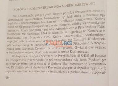 Skandal me tekstet shkollore: Kosova ende se ka shpallur pavarësinë!