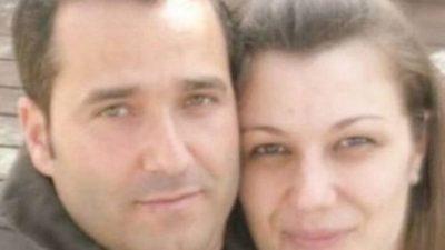 Petrit Nikolli dhe gruaja