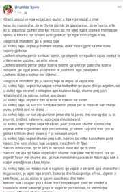 Pas arrestimit të të dashurit të së bijës, reagon ashpër nëna e Viola Spiros, ja se çfarë shkruan