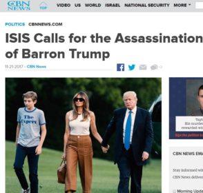 Shtëpia e Bardhë në panik, djali i presidentit Trump kërcënohet me vdekje