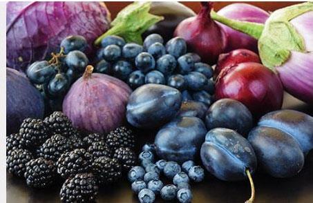 Fuqia kuruese e ushqimeve të purpurta