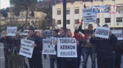 lezhe banoret proteste