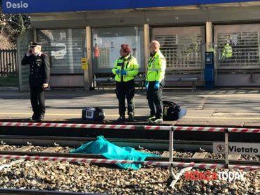 Uomo travolto e ucciso dal treno in stazione a Desio (Foto Bennati_MonzaToday) (1)