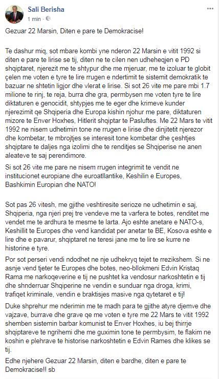 Berisha fb