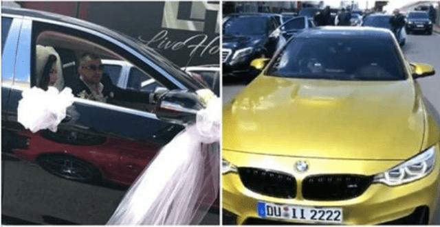 Martohet nipi i ish deputetit  makinat luksoze  çmendin  Tiranën