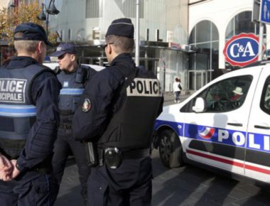 Policía-francesa