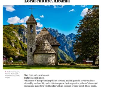 shqiperia turizmi