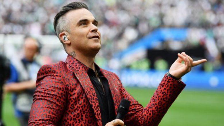 Isha në presion   Robbie Williams zbulon arsyen pse nxori gishtin e mesit në hapjen e Botërorit