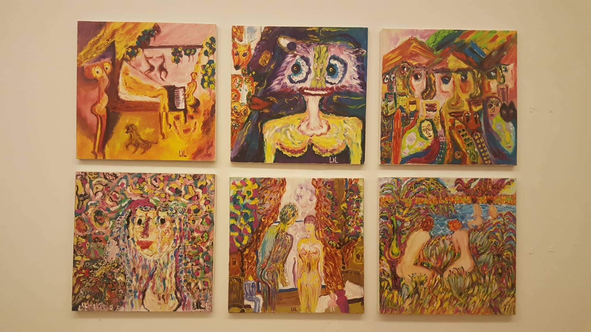 ekspozita Liliana Hoxha