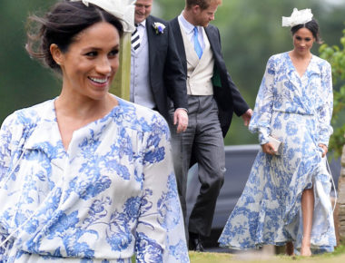 Harry and Meghan attend wedding