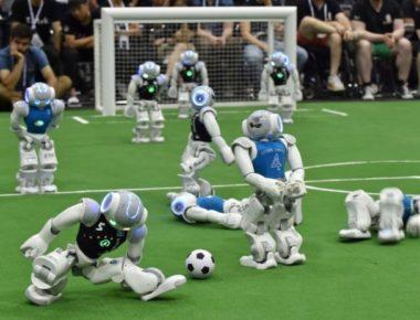 robot futboll
