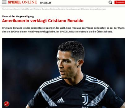 Auto Ronaldo Der Spiegel1538139305