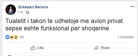 Shkelzen Berisha Fb