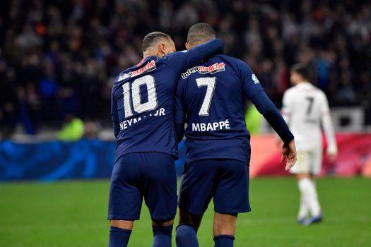 Kylian Mbappe And Neymar Lyon Vs Psg Coupe De France 2020 (1)