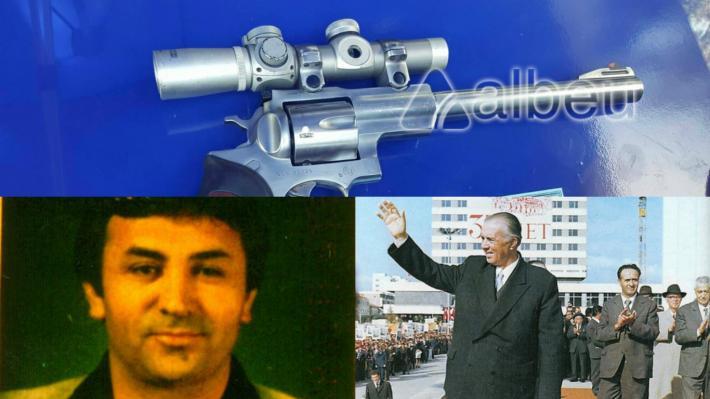FOTO/ Zbulohet pistoleta, me të cilën Xhevdet Mustafa do të vriste Enver  Hoxhën - Balkanweb.com - News24