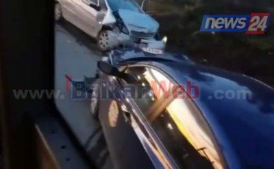 aksident ne rrugen levan fier