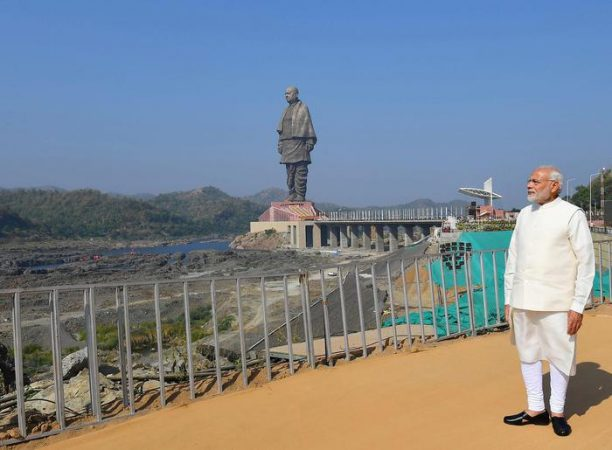 Statue Of Unity Monument Inaugurated