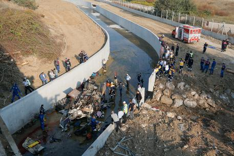 Migrant Bus Accident In Turkey