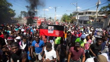 Haitiprotest