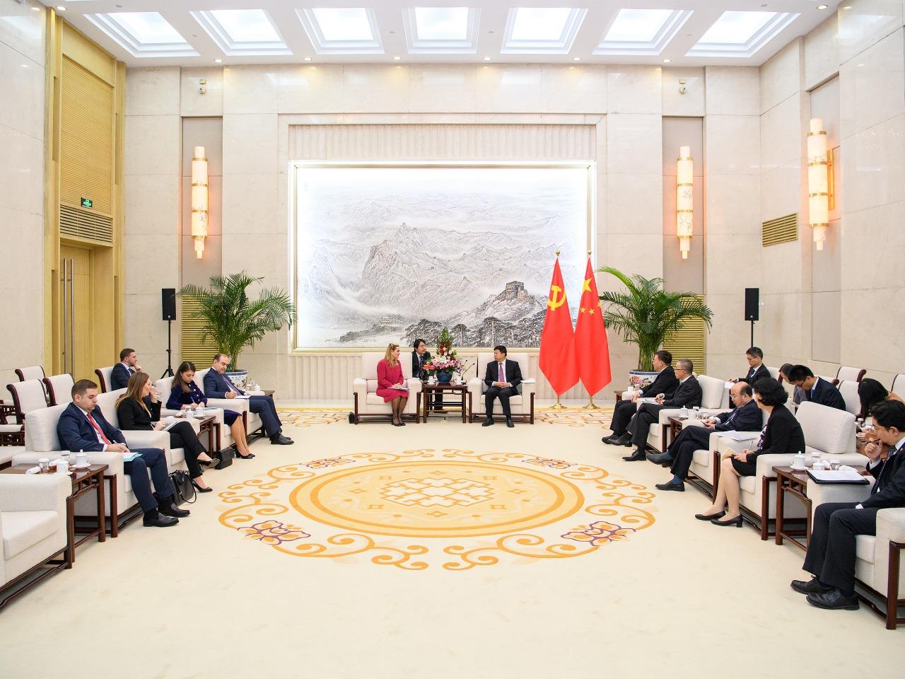 Kryemadhi Me Ministrin Kinez (2)