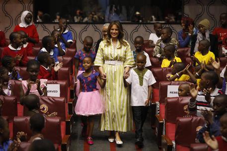 Us First Lady Melania Trump Visits Kenya