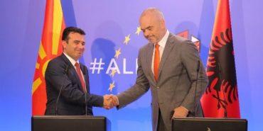 Edi Rama Zoran Zaev In Albania
