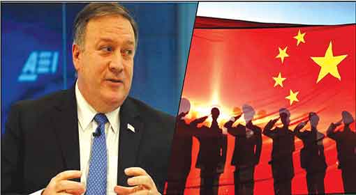 China Bigger Threat To Us Than Russia, Says Cia Chief Mike Pompeo