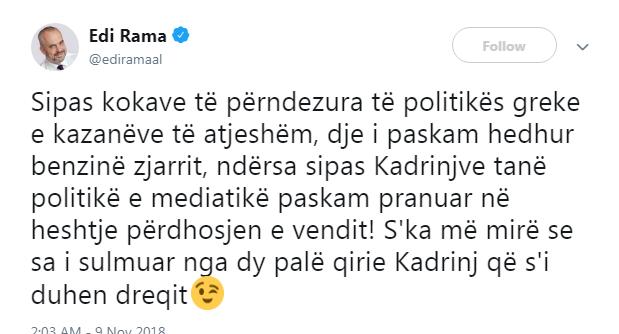 Rama Twitter 1