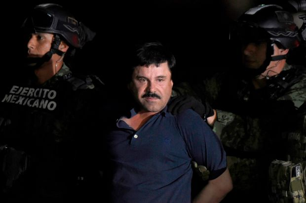 Files Us Mexico Drugs Crime Court Chapo Guzman