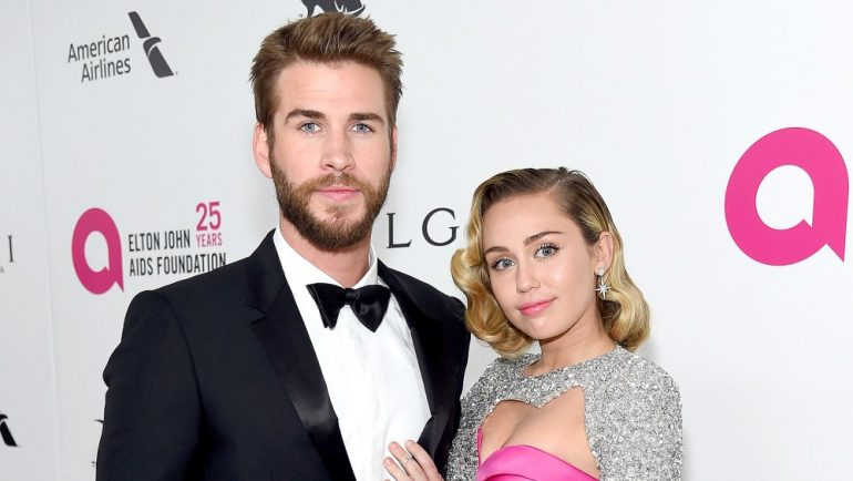 Liam Hemsworth Miley Cyrus House Wild Fire