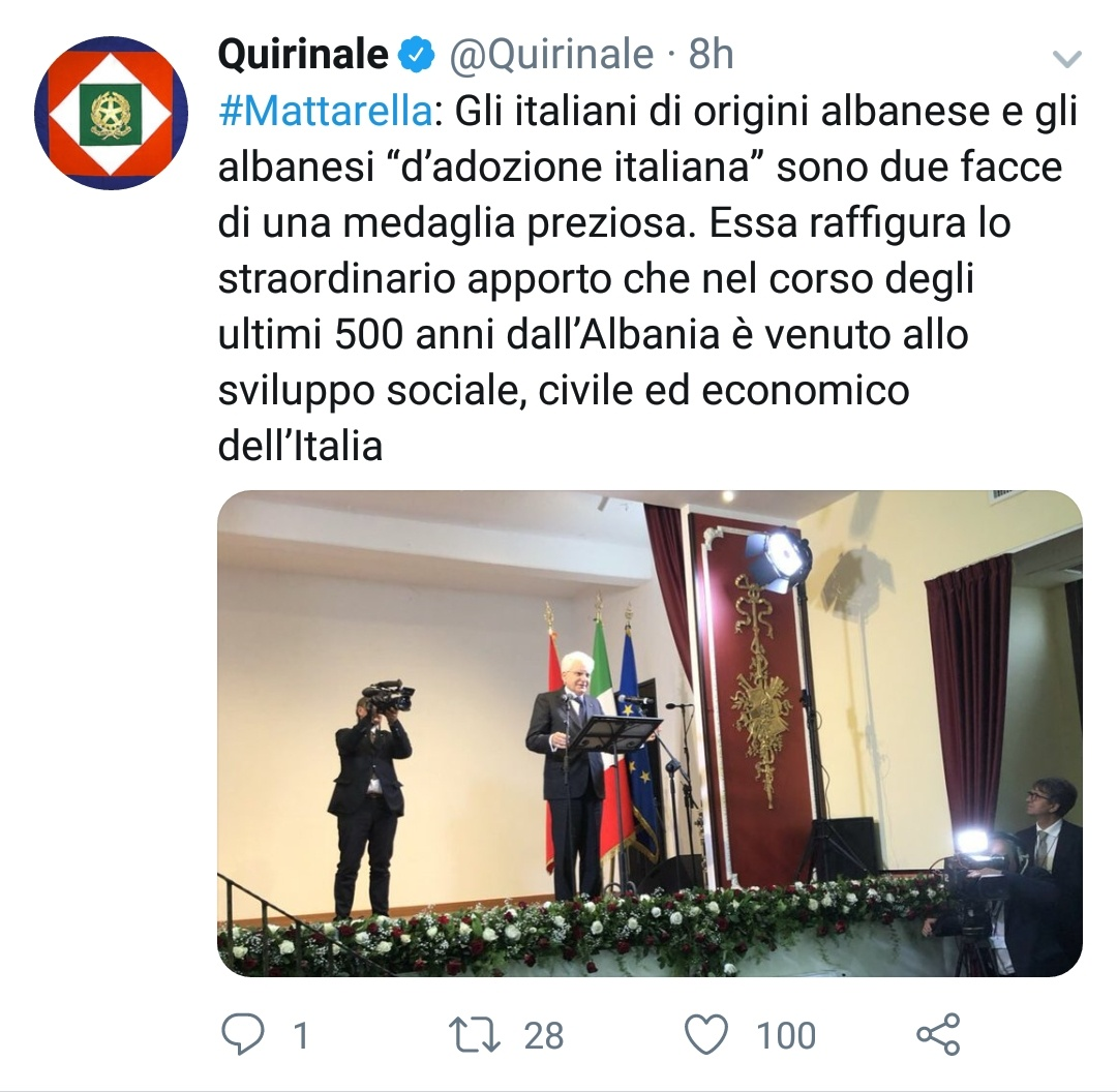 Twitter Matarella