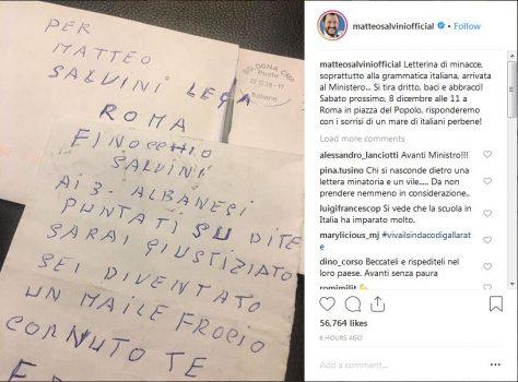 Matteo Salvini Kercenim
