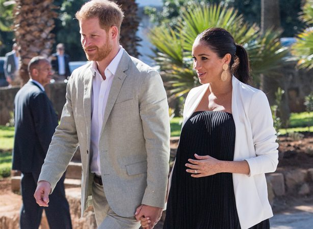 Meghan Markle And Prince Harry Morocco Inline