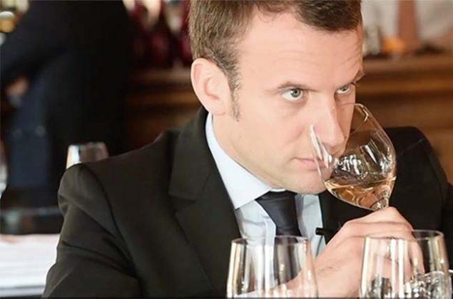 Emmanuel Macron Wine 635x420