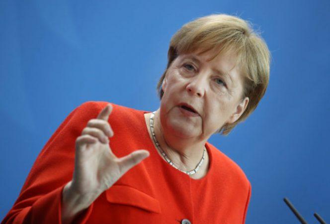 Viktor Orban Meets With Angela Merkel In Berlin