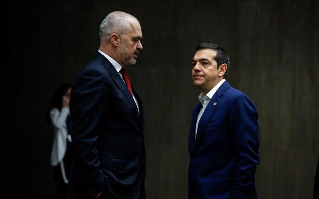 Aleksis Tsipras Enti Rama