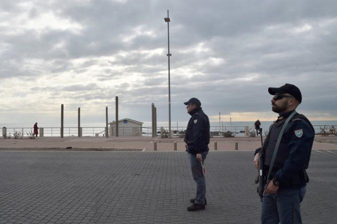 Italy Police Ostia Mafia